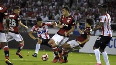 Así reaccionaron los hinchas de Junior en redes sociales al 2-0 ante Flamengo