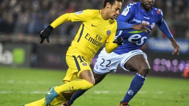 El poderoso PSG de Neymar cae ante el decimocuarto de la Liga francesa