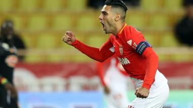 Falcao le da el triunfo al Mónaco ante el Angers