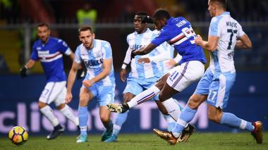Duván Zapata anota, pero la Sampdoria cae