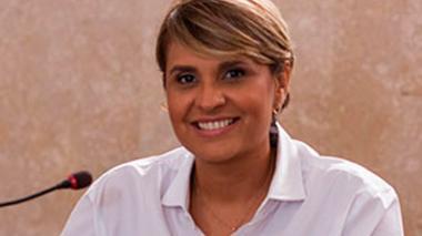 Ludys Rodríguez, diputada.