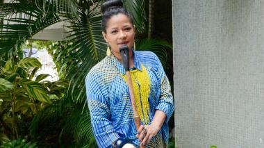 La gaitera Mayté Montero sigue a ritmo de champeta