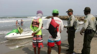 Capturan a presunto violador de una turista en las playas de El Laguito, Cartagena