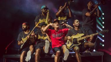 Bruno Mars encantó a Colombia con la magia de su 24k Magic World Tour