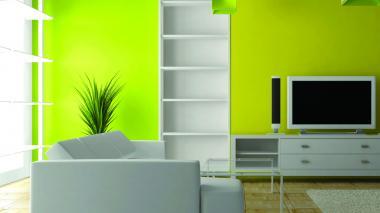La elección de un color fuerte o claro depende de la chispa o tranquilidad que prefiera para los espacios de su casa.