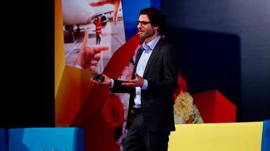 El presidente de ProColombia, Felipe Jaramillo.