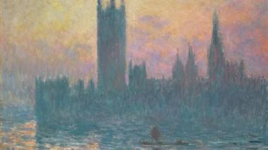 'The Houses of Parliament, Sunset', 1903 expuesta en el National Gallery of Art.