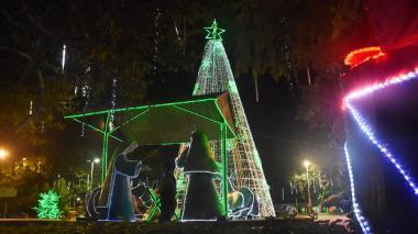 La Navidad alumbra a las ciudades de la región Caribe