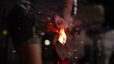 Dos adultos quemados con pólvora en Barranquilla durante noche de velitas
