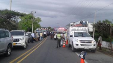 Piden militarizar la vía Ciénaga–Barranquilla