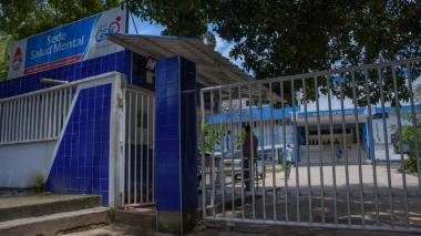 Fachada de la sede de Salud Mental del Hospital Universitario Cari E.S.E.