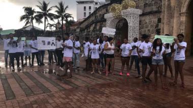Familiares de joven asesinado en El Zapatero protestan por justicia