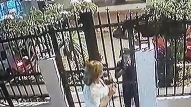 Cámara de seguridad registra robo en el barrio Olaya