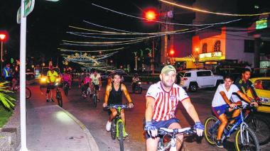 Este domingo habrá ciclopaseo en Soledad