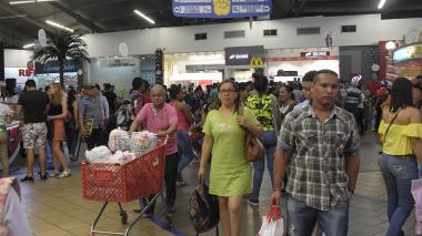 Barranquilleros 'despertaron' por las compras de Navidad