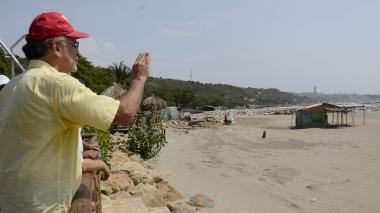 Gobernación recuperará 2 kilómetros de playa entre Salgar y Sabanilla