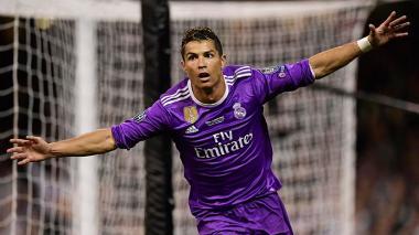 El jugador portugués Cristiano Ronaldo.
