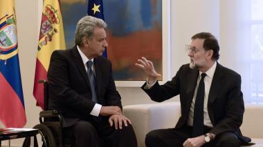 """Moreno tilda de """"siniestro"""" que Correa defienda la reelección indefinida en Ecuador"""