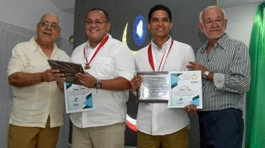 Nilson Romo, periodista de EL HERALDO, recibe premio de Acord Atlántico