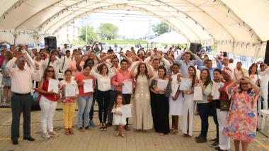 Minvivienda entrega 432 escrituras de casas subsidiadas en Sincelejo