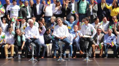Sergio Fajardo ya es el candidato oficial de la Coalición Colombia