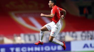 Con gol de Falcao, Mónaco derrota 2 - 1 al Rennes