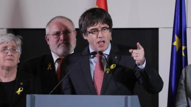 """Puigdemont celebra una victoria electoral que """"nadie puede discutir"""""""