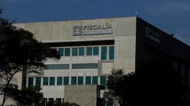 Fachada de las instalaciones de la Fiscalía General de la Nación en Bogotá.