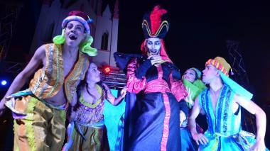 Show de Navidad iluminó a los niños de Malambo