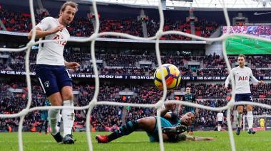 Kane supera a Messi y se convierte en el máximo goleador de 2017