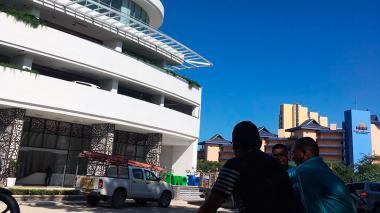 Los samarios que buscan una 'selfie' con James Rodríguez