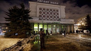 Explosión en un supermercado de San Petersburgo deja al menos 10 heridos