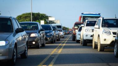 Más de un millón de vehículos se han movilizado en el último puente del año