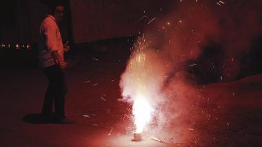 Dos adultos quemados con pólvora en Atlántico durante el Año Nuevo