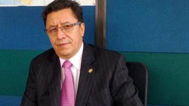 El presidente de la CUT, Luis Alejandro Pedraza.