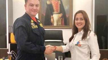 CF, Jorge Sánchez, nuevo comandante de Guardacostas en Santa Marta