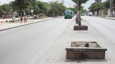 Calle 17 con carrera 17B, donde ocurrió el accidente.