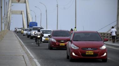 Durante puente de Reyes se movilizarán cuatro millones de carros en el país