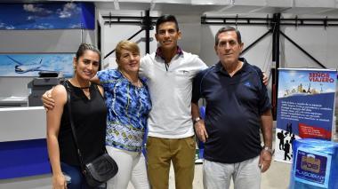 Nelson Soto viaja a España entre la nostalgia y el júbilo