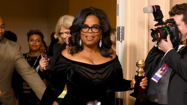 El potente discurso de Oprah en los Globos de Oro