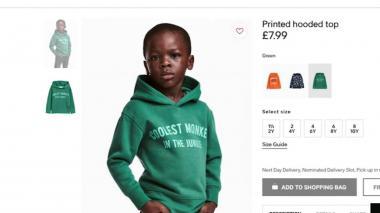 H&M retira una foto considerada racista