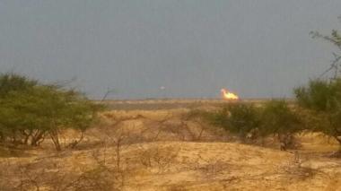 Explosión en transportadora de gas causa pánico en Manaure