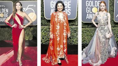 Globos de Oro: glamour, elegancia... y protesta