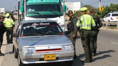 En Puente de Reyes, 2.054 comparendos ha impuesto la Policía de Tránsito