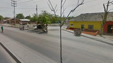 Foto para ilustrar nota. Barrio Rebolo.