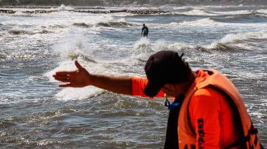 Alerta en la Costa por lluvia, oleaje alto y fuertes vientos