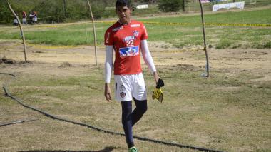 Reynaldo Fontalvo luego de su entrenamiento en la sede Adelita de Char