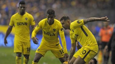 Cardona, Barrios y Fabra, desafectados del plantel de Boca