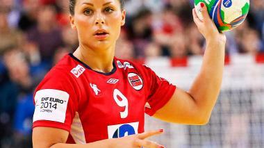 La campeona mundial Nora Mork.