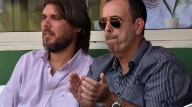 Mundial de Tenis: padres también juegan su partido en la tribuna